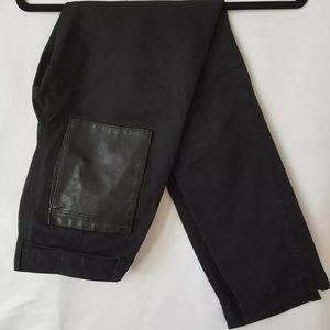 Zadig & Voltair Pekin Pleather Pocket Jeans 34